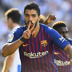 La Liga: Suarez, Dembele score in Barcelona's win; Athletic Bilbao hold Real Madrid