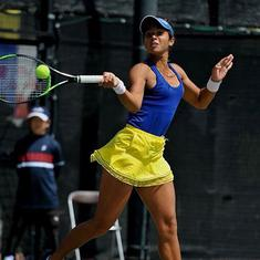 Fed Cup: Ankita Raina, Rutuja Bhosale go down fighting as India lose to China