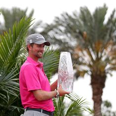'I feel like it's my first win,' says Webb Simpson after ending 4-year title drought at Players