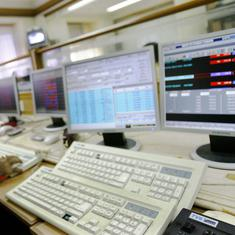 Sensex, Nifty close lower as BJP appears to fall short of majority mark in Karnataka