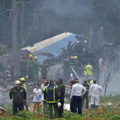 Cuba: At least 100 dead in plane crash near Havana airport, only three survivors