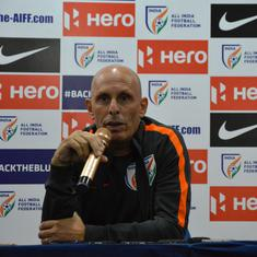 Football: Fail to understand the hype around the Indian under-17 World Cup team, says Constantine