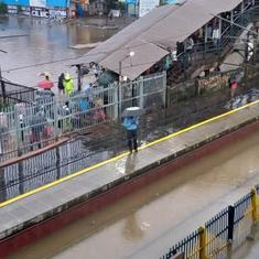 Heavy rain continues in Mumbai, schools and colleges closed