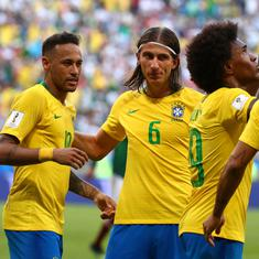 World Cup: Neymar, Firmino score as Brazil cruise to quarter-finals with 2-0 win over Mexico