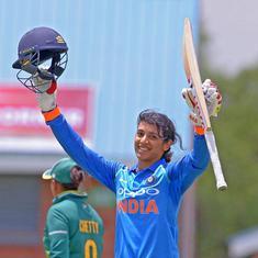 Smriti Mandhana rises to top spot in ICC women's ODI rankings