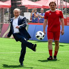 World Cup: President Vladimir Putin put no pressure on Russia to beat Spain, says Kremlin