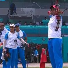 Asian Games: India bag silver in women's compound archery team after narrow loss to Korea