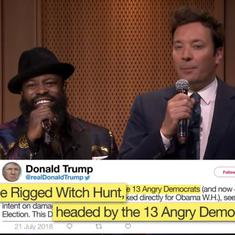 Watch: Jimmy Fallon made an excellent rap song out of Donald Trump's twitter rants