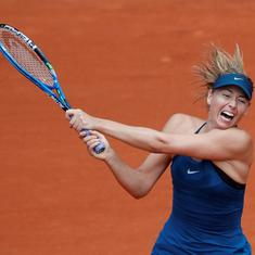 Two-time champion Maria Sharapova pulls out of French Open due to shoulder injury