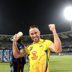 Faf showed why experience counts: MS Dhoni hails du Plessis's 'brilliant' knock