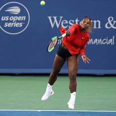 Cincinnati: Serena rebounds from worst loss to hammer Gavrilova; Azarenka, Keys advance