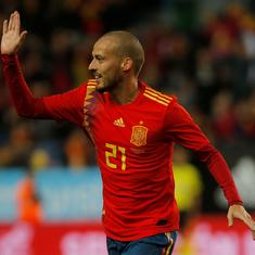 Spain's David Silva announces retirement from international football