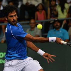 Indian tennis: Sasikumar Mukund, Saketh Myneni reach men's singles second round at Bengaluru Open