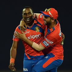 Big blow for Gujarat Lions as Dwayne Bravo is ruled out of IPL 10