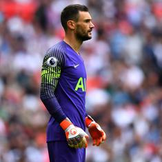 France and Tottenham goalkeeper Hugo Lloris charged with drink-driving