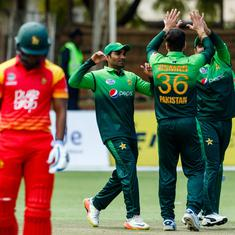 Pakistan seal series win after nine-wicket victory over Zimbabwe in 3rd ODI