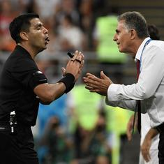 'In the rules it doesn't say if it's Messi or Ronaldo': Iran coach blasts VAR after draw vs Portugal