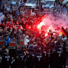 Germany: Far-right demonstration after stabbing of a man leaves several people injured