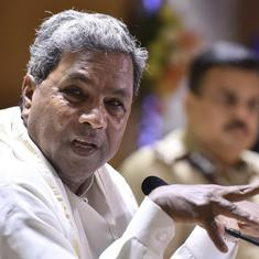 Karnataka: Congress will take action against four rebel MLAs, says Siddaramaiah