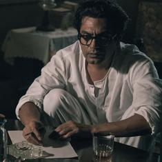 Nawazuddin Siddiqui on becoming Manto: 'When I look at him and then myself, I feel very small'