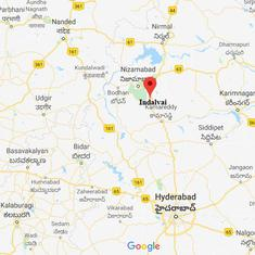 Telangana Rashtra Samithi leader arrested for kicking woman in the chest over land dispute