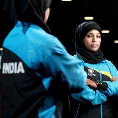 Hijab-clad Majizia Bhanu from Kerala eyes gold in World Arm Wrestling Championship