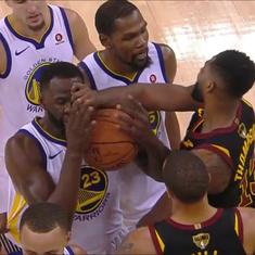 NBA Finals: Cleveland forward Tristan Thompson fined, not suspended for fight with Draymond Green