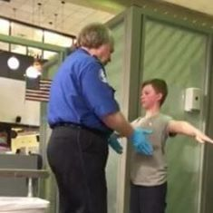 Watch: Mother films video of 13-year-old son suffering 'humiliating' security check at US airport