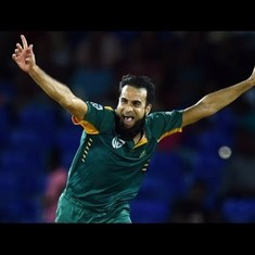 Watch: How did South African leg-spinner Imran Tahir manage 7/45 on a perfect batting track?