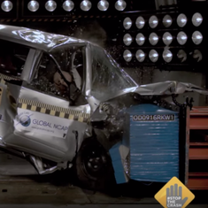 Five Indian cars, including the Kwid and Scorpio, score zero rating in an international crash test