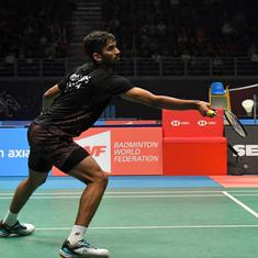 Denmark Open badminton: Defending champ Srikanth outplayed by world No 1 Kento Momota in the semis