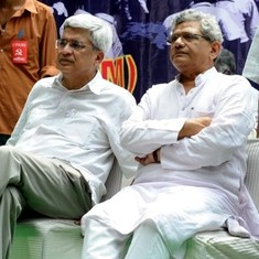 Yechury and Karat settle for a temporary truce but CPI(M) is plunged into crisis