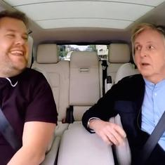 Watch: Paul McCartney's 'Carpool Karaoke' makes host James Corden tear up