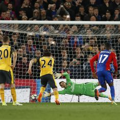 Arsenal beaten 3-0 by Crystal Palace as top-four hopes suffer major blow