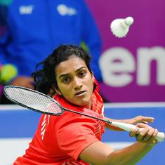 China Open: PV Sindhu enters second round, Ashwini-Sikki and Manu-Sumeeth bow out