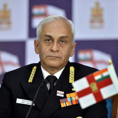 Navy chief says Maldives a challenge for India as its government is more inclined towards China