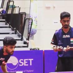 Thailand Open TT: Sathiyan-Sanil win silver after loss to unseeded German pair