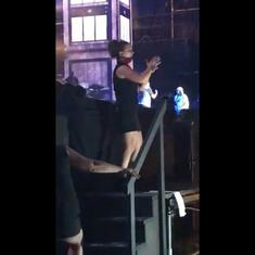 Watch: A quicksilver sign language interpreter steals the show at an Eminem concert