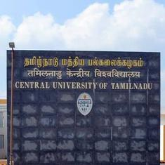 Central University of Tamil Nadu asks students not to dissent against government policies