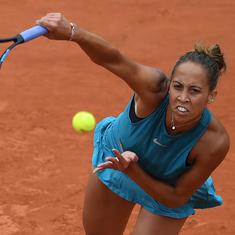 Madison Keys powers past Putintseva to reach first Roland Garros semi-final