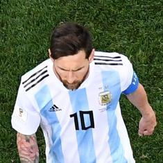 क्या फीफा विश्व कप में क्रोएशिया से अर्जेंटीना की करारी हार के लिए सिर्फ मेसी जिम्मेदार हैं?