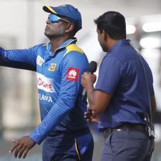 Asia Cup 2018: Sri Lanka sack Angelo Mathews as captain after early exit