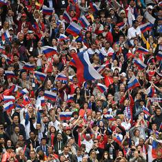 Bring on Brazil! Russia fans dreaming of World Cup final after thrilling Spain upset