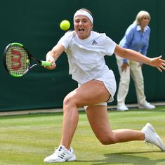 Women could play five sets but then Grand Slams would last three weeks, says Jelena Ostapenko