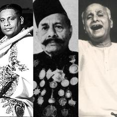 Explore the complex Gaud Saarang raag through performances by Ravi Shankar, Ali Akbar Khan and more
