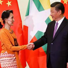 म्यांमार के साथ मिल कर चीन एक और आर्थिक गलियारे का निर्माण करेगा