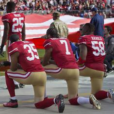 Stand for national anthem or stay in locker room: NFL's solution to player protests