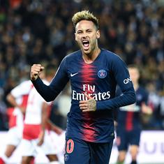 Neymar's Champions League ban reduced to two games after appeal to Court of Arbitration for Sport