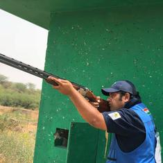 Shotgun World Cup: Sheeraz Sheikh records perfect score on first day, Ganemat Shekhon misses final