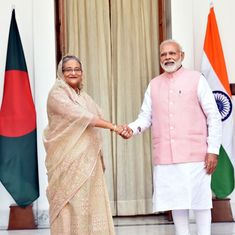 बांग्लादेश को भारत 450 करोड़ डॉलर का कर्ज देगा, दोनों देशों के बीच 22 समझौते भी हुए